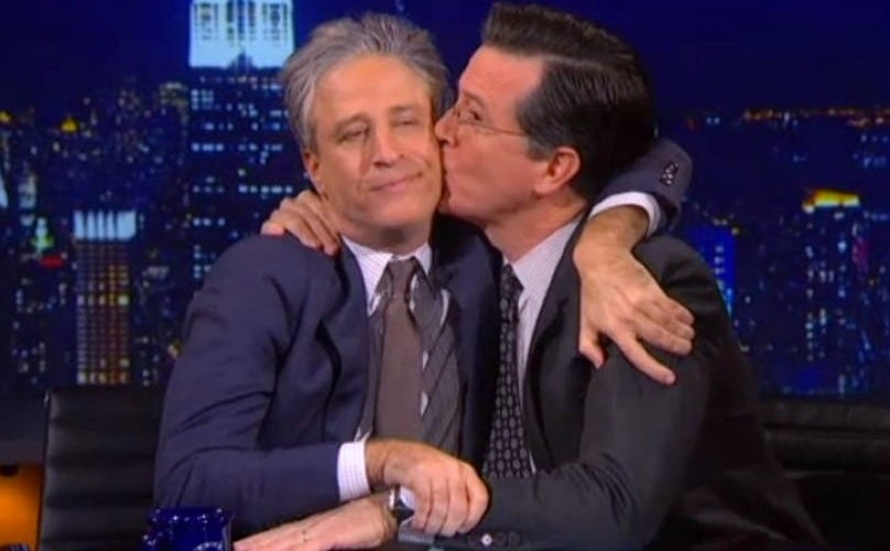 The Jon Stewart/Stephen Colbert Reunion Was Even More Awesome Than We Imagined