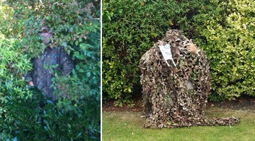 Hero Hides In Bushes To Catch People Who Don't Pick Up Their Dog's Poop