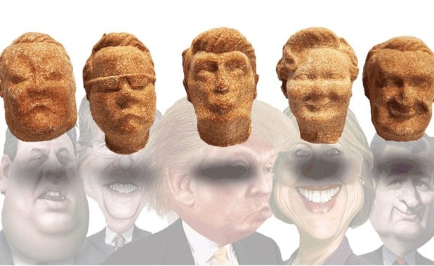 Treats Shaped Like 2016 Candidates Let Your Pup Experience The Sweet Taste Of Liberty