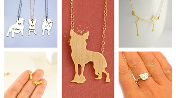 14 Etsy Designers Who Turn Their Puppy Love Into Beautiful Jewelry